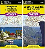 Scandinavia Adventure Travel Map Pack Norway Sweden Finland National Geographic