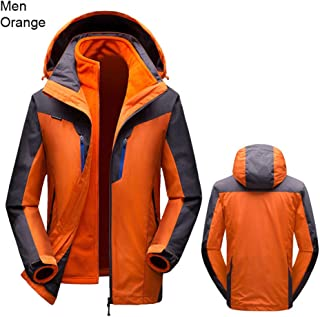 Women Men Winter Warm Ski Jacket Windproof Sports Coat Snow Jacket Hiking Camping