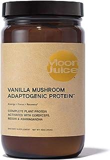 Moon Juice - Vanilla Mushroom Adaptogenic Protein | Energy, Focus, and Recovery