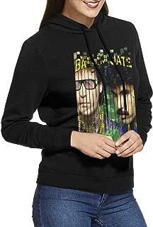 EdithL Womens Hall & Oates Hoodies Sweatshirt Black