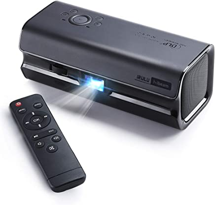 Mini DLP Home Theater Projector,iRULU Portable Stereopticon,Smart Epidiascope,115 ANSI lm...