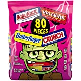 ASSORTED HALLOWEEN CANDY: This delicious assortment of chocolate minis and fun sized candy features some of your favorite chocolate confections: Butterfinger, Crunch, 100 Grand, & Baby Ruth