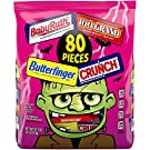 Butterfinger & Co. Bulk Chocolate-y Halloween Candy Bag, Mini and Fun Size Mix of 100 Grand, Butterfinger, Crunch & Baby Ruth for Trick or Treat Bags, Individually Wrapped Candy, 80 Count (32.1 Ounces)