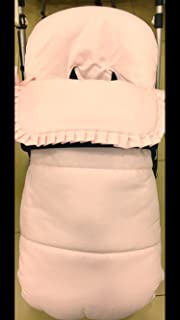 Saco silla bugaboo camaleon 2 y 3 pique abeja rosa