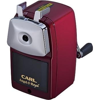 カール事務器 鉛筆削り エンゼル5 ロイヤル 日本製 レッド A5RY-R