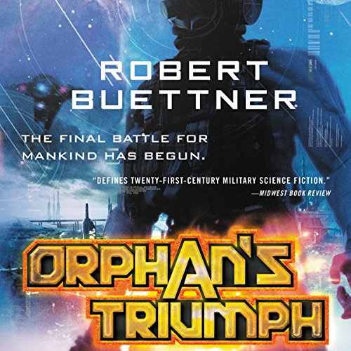 Orphan's Triumph audiobook cover art