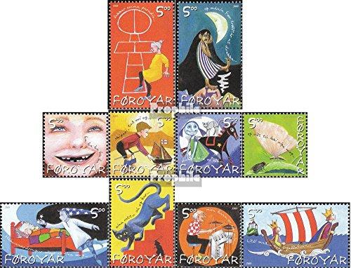 Danemark - Îles Féroé mer.-no.: 450-459 (complète.Edition.) 2003 pour Enfants (Timbres pour Les collectionneurs) Musique / Danse