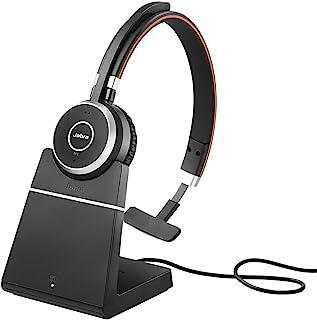 Jabra 15 x 10 x 3 cm Evolve 65 Wireless Bluetooth mono headset- with charging stand- optimised for Microsoft Lync