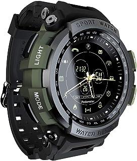Smart Watch, Anself LOKMAT MK28 Smart Watch 1.14inch Screen BT4.0 Life Waterproof Pedometer Calories Alarm Sports Men Smar...
