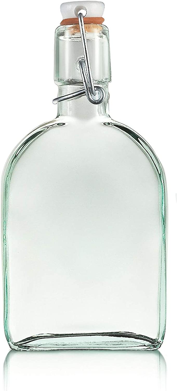 12 Pcs - Italian Swing Top Glass Oz Capaci Approx specialty shop Bottle 35% OFF 7 Flask