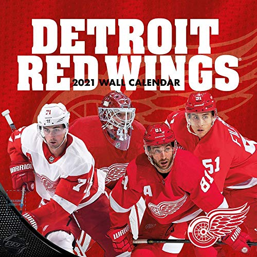 TURNER Sports Detroit Red Wings 2021 12X12 Team Wall Calendar (21998011940)