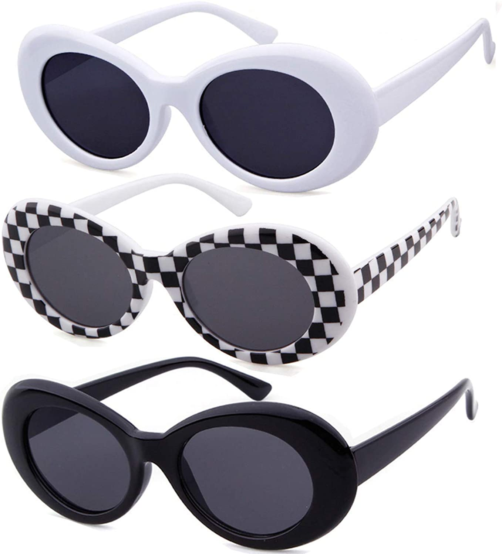 1960s Sunglasses   70s Sunglasses, 70s Glasses Authentic Clout Goggles Bold Oval Retro Mod Kurt Cobain Sunglasses Clout Round Lens  AT vintagedancer.com