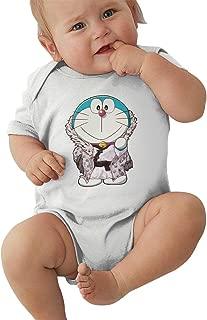 Newborn Clothes Doraemon Boys Girls Baby Infant Onesies Cotton Short Sleeve