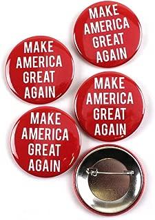 trump make america great again button