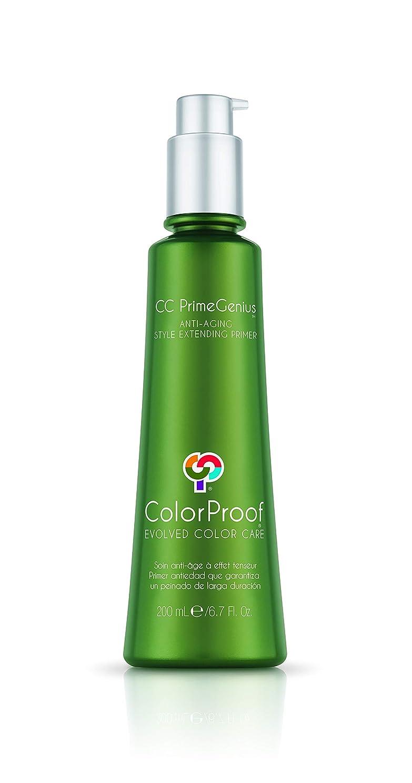 奇跡的な敬意五月ColorProof Evolved Color Care プライマー、6.7フロリダ州の拡張ColorProof色ケア当局CC PrimeGeniusアンチエイジングスタイル。オズ。 濃い緑色