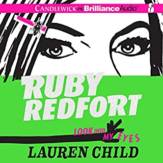 Ruby Redfort: Look into My Eyes cover art