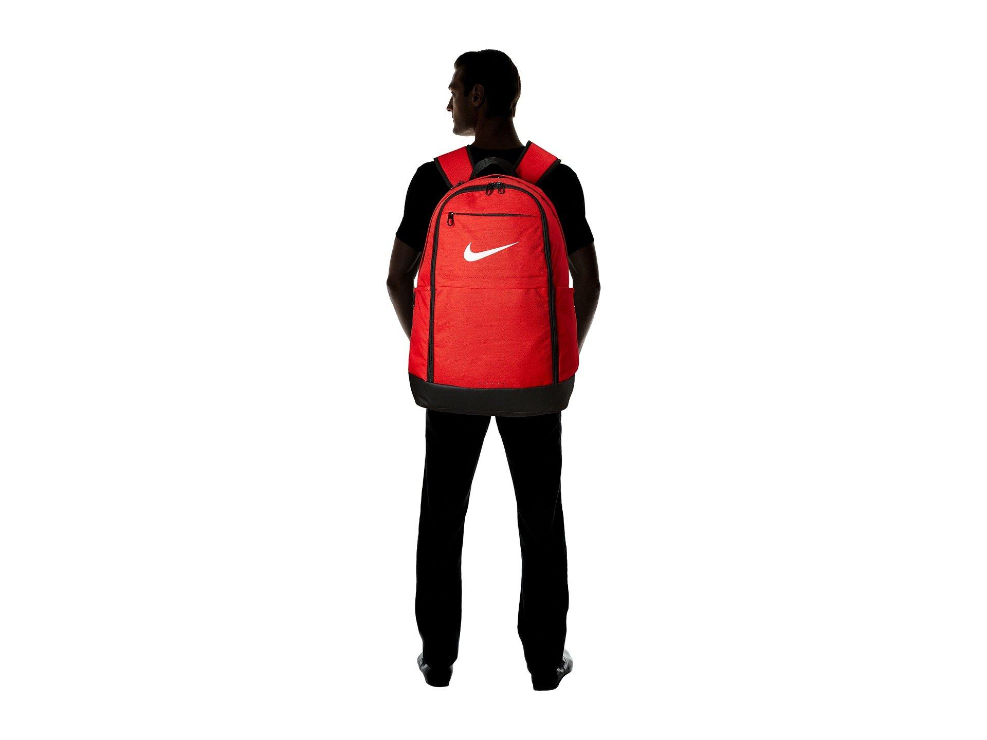 Xl Red white Brasilia Backpack Nike black University I5Rvg5qw