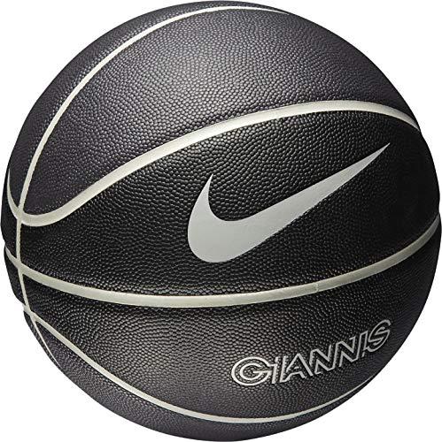 NIKE Unisex – Adulto Giannis All Court Baloncesto, Negro/Gris Hierro, 7