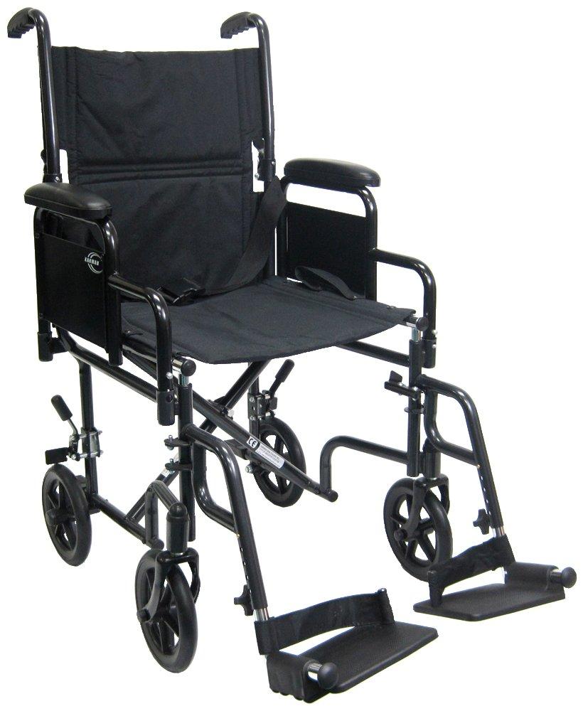 Karman Lightweight Transport Wheelchair Removable