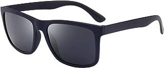 Polarized TR90 Lightweight Sunglasses Classic Retro Sun Glasses for Men Women