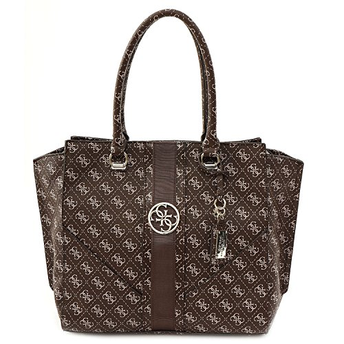 Guess TASCHE - Lena - Shopper - Coffee