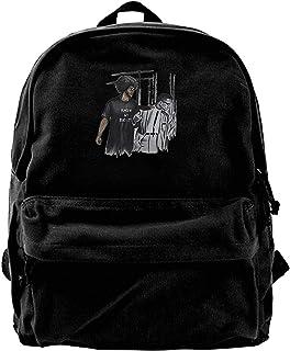 Mochila de lona Colin Kaepernick y Malcolm X – I Know My Rights Mochila de gimnasio senderismo portátil bolsa de hombro pa...