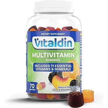 Multivitaminico gummies vitaldin– integratore per donna e uomo; adulti – 11 vitamine e minerali –70 caramelle 8435472600731