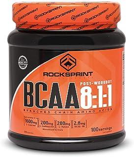 BCAA 8:1:1 - proporción ideal - gana masa muscular