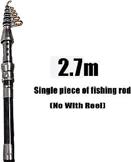 1.5M-2.4M Telescopic Fishing Rod Combo and Fishing Reel Full kit Wheel Portable Travel Fishing Rod Spinning Fishing Rod Combo