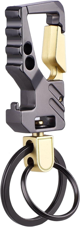 2 Pack Car Key Chain Bottle Opener Keychain for Men and Women