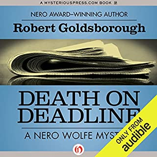 Death on Deadline audiobook cover art