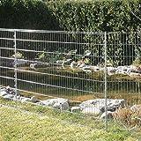 Teichschutz-Zaun