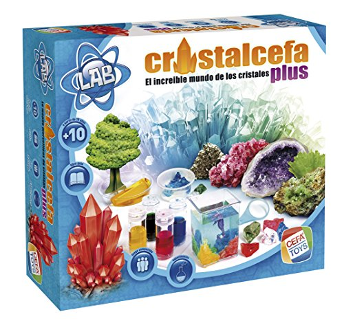 Cefa Toys - Cristalcefa Plus, Juego Educativo (21718)