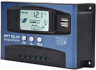 BLLBOO Controlador de Carga MPPT - YCX-003 30-100A Controlador de Carga del regulador del Panel Solar MPPT Controlador de ...