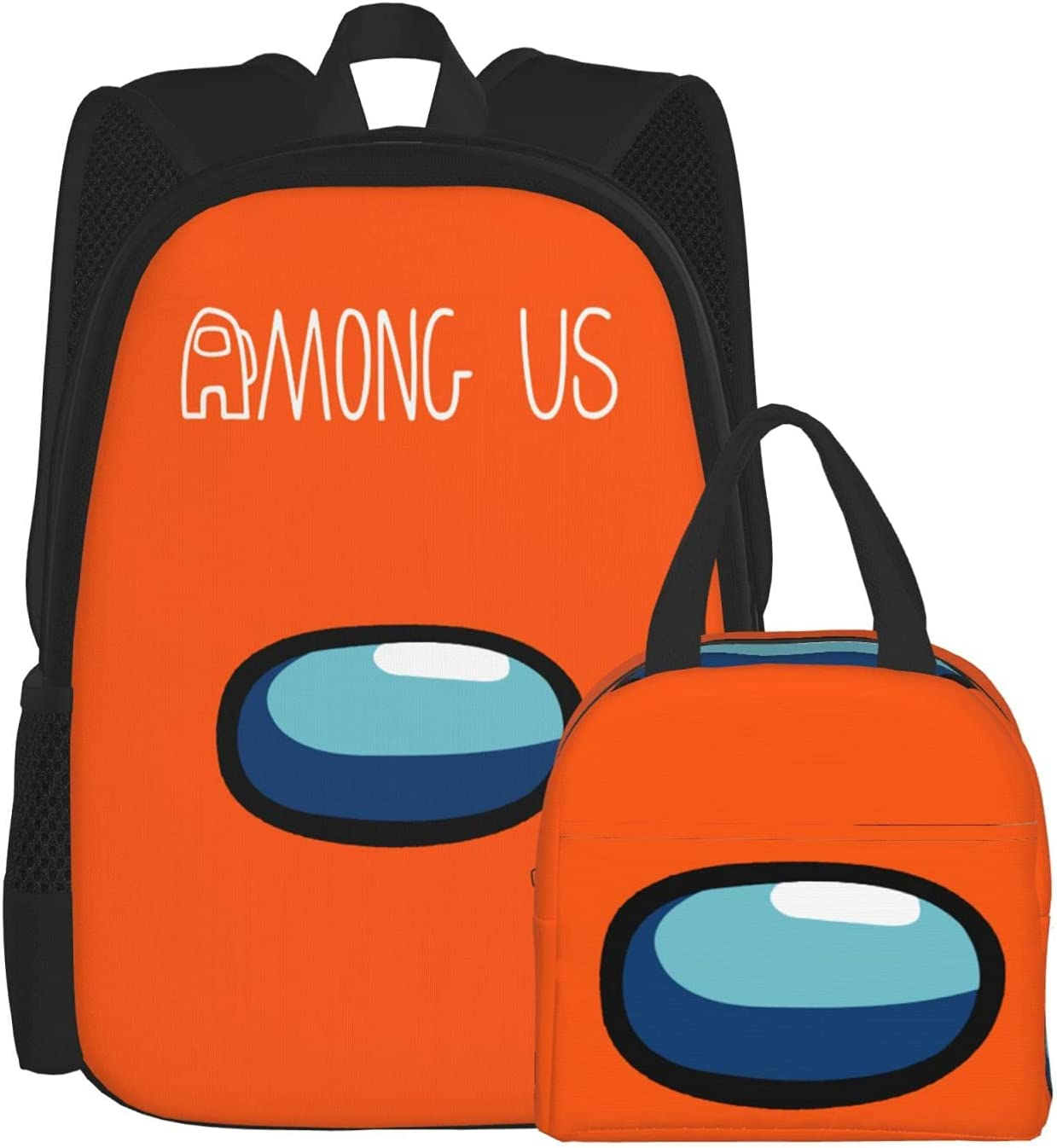 Easy-to-use Us Deep Orange Outlet SALE Teens Schoolbag Lunch Bags Insulated Backpack Box