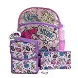 My Little Pony Backpack 5 Pc. Set for Girls, 16 in. Sequin Backpack w/ My Little Pony Lunch Bag & Pencil Case