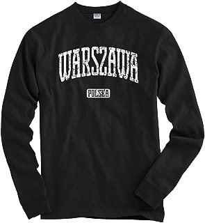 Smash Transit Men's Warsaw Poland Long Sleeve T-Shirt