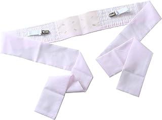 伊達締め シャーリング ニューサッシュ クリップ付 あづま姿 年中使える ピンク 日本製 女性 レディース コーリンベルト だてじめ ギャザー 伸縮 快適 着付け小物