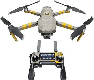 DJI Mavic 贴花套件 - 包括 1 个无人机/电池皮肤 + 控制器皮肤 Dystopia Mavic 2/Zoom DJIM2-DYSTOPIA