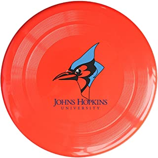 AOLM JohnsHopkins University BLUE Outdoor Game Frisbee Light Up Flying Yellow