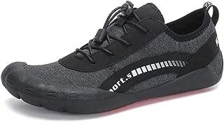 Hotaden Water Shoes for Mens Womens Aqua Waiking Shoes Wide Toe Beach River Walking Shoe for Fishing Outdoor