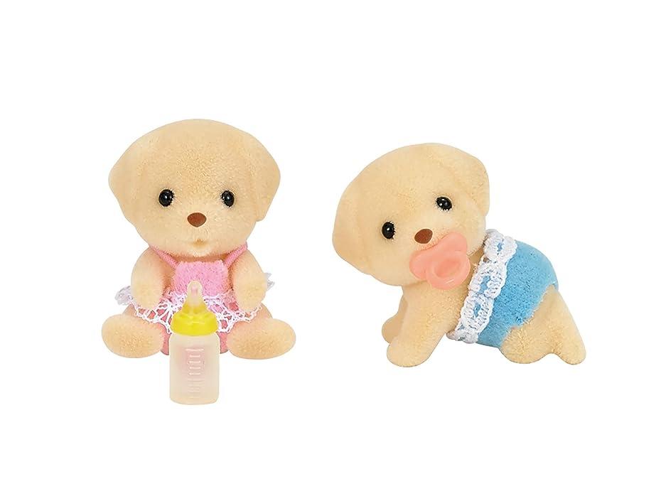 電話に出るファンモディッシュシルバニアファミリー 人形 ラブラドールのふたごちゃん イ-106