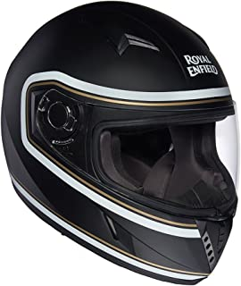 Royal Enfield Black Full Face Helmet Size (M)58 CM (RRGHEH000109)