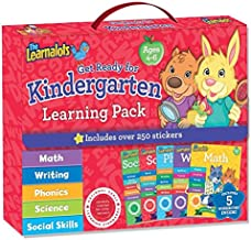 Get Ready for Kindergarten Learning Pack Ages 4-6: Includes Over 250 Stickers (Learnalots) (The Learnalots)