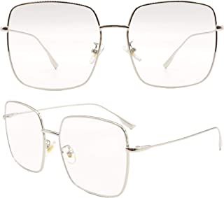 New Oversized Metal Square frame Eyeglasses 2379