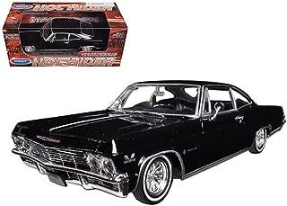Welly 1965 Chevrolet Impala Black Low Rider 1/24 Scale Diecast Model Car Black