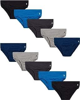 Mens' Low Rise Underwear Briefs (10 Pack)