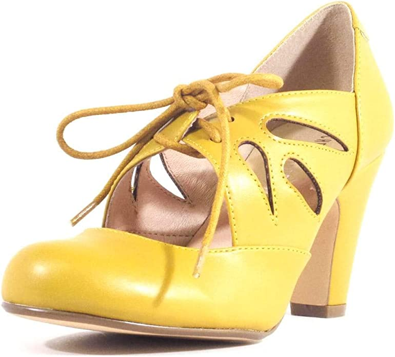 60s Shoes, Go Go Boots   1960s Shoes Chelsea Crew Christie Womens Mary Jane Dress Heels  AT vintagedancer.com