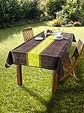 Dekoleidenschaft Tischdecke Outdoor 240 x 148 cm, schmutzabweisend, wasserabweisend, für Garten, Balkon & Terrasse