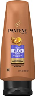 Pantene Truly Relaxed Conditioner Moisturizing 12 Ounce (355ml) (3 Pack)
